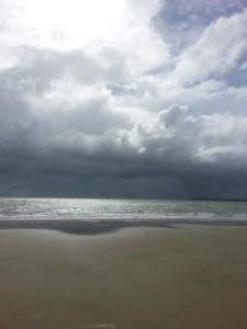 Rose Dee. Beach Photo.