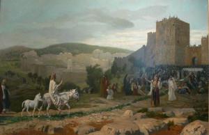 L'entrée du Christ à Jérusalem by  Jean-Léon Gérôme,
