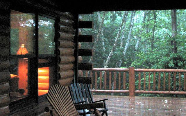 Cabin rain
