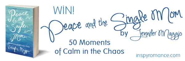 giveaway, Peace and the Single Mom, Jennifer Maggio