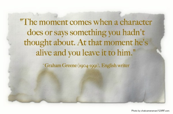 characters Graham Greene quote 2014