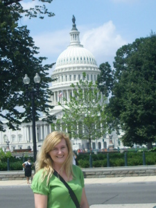 Visiting Washington DC while I wrote Love is Monumental.