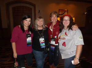 Laurie, Kathleen, Beth, Carol