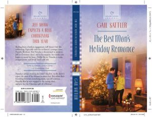 The Best Man's Holiday Romance - open cover