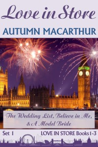 Cover image for LOve in Store Books 1, 2, & 3, sweet Christian romance by Autumn Macarthur