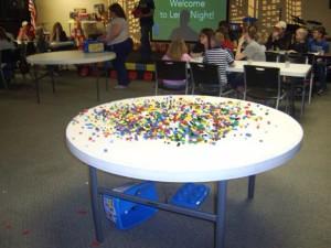 Giant piles o' LEGOs!