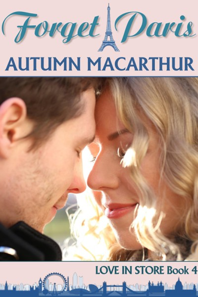 ebook cover for sweet Christian romance Forget Paris, by Autumn Macarthur