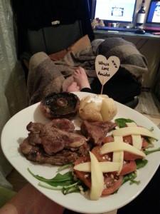 2. Where love resides - Dinner