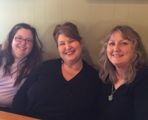 Me with Jeane and Kathleen at lunch Saturday