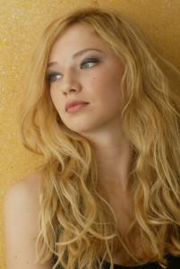 Blonde Curled
