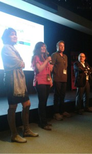 We did a Q and A session following the screening.