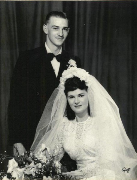 Percy and Ethel wedding ~ 17 December 1949