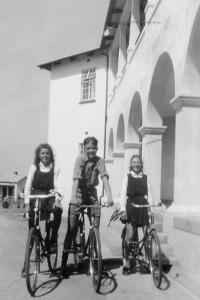 Ethel Jackson [left] at Bethlehem orphanage
