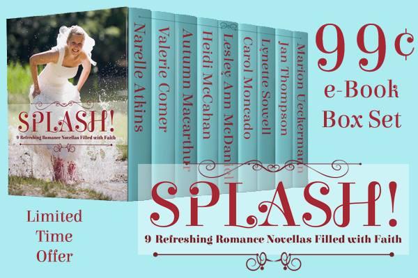 Splash sweet Christian summer romance novella collection