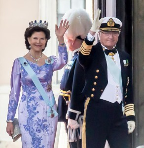 Queen Silvia and King Carl XVI