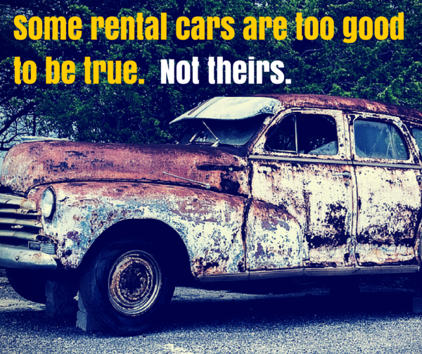 Some rental cars are too good to be