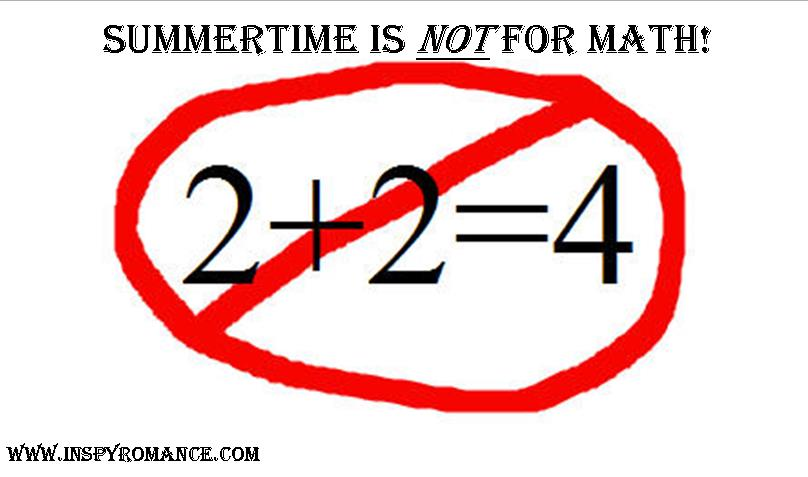 Summer time is not for math