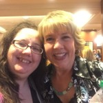 Me and Deborah Raney