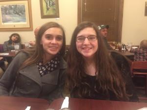 Maggie and Ashton - besties!