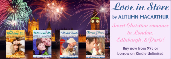 Image of British Christian romance books by Autumn Macarthur