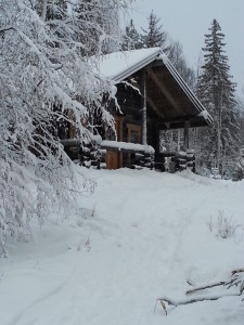 Cottage outside