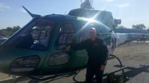 Jason being a flight paramedic