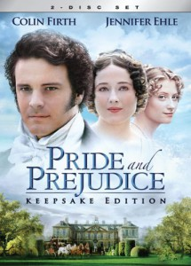 Pride and Prejudice featuring Colin Firth...a classic.