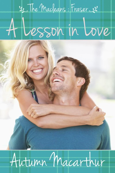 Cover image for Christian romance A Lesson in Love by Autumn Macarthur