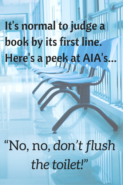 It's hard not to judge a book by it's first line.Here's a peek at AIA's...