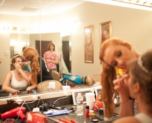 """One of my favorite of my """"getting ready"""" wedding photos."""