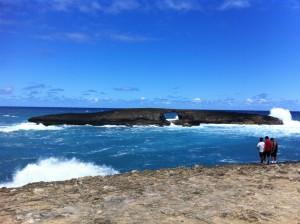 Laie Point, Oahu.