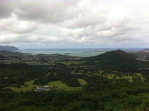 Nuuanu Pali Lookout, Oahu.