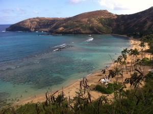 Hanauma Bay, Oahu.