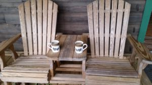 Inspy Romance - pic of cabin chairs