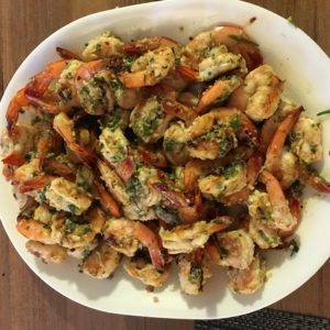 lemon herb shrimp fresh caught