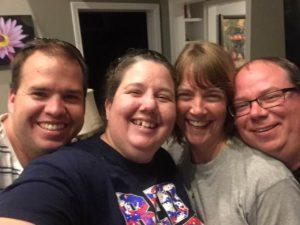 Matt, me, Ginger, Steve