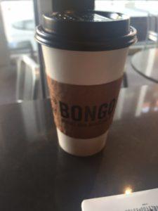 Bongo Coffee cup