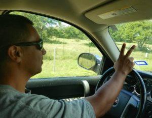 The Texas Road Wave- Jolene Navarro