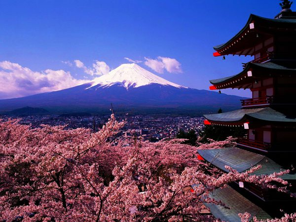 japan-mountains-mount-fuji-cherry-blossoms-pagodas-chureito-pagoda_wallpaperswa-com_74
