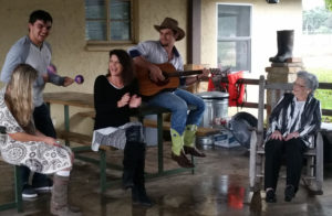 Live music is always fun at our family Thanksgiving