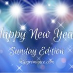 Sunday Edition: January 1, 2017