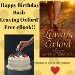 Free eBook! Happy Birthday Leaving Oxford!