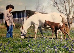 1987. Cindy Guinther, Jolene Navarro's mother