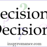 Decisions, Decisions and a #Giveaway