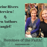Francine Rivers Interview! When Authors Fangirl! Heroines of the Faith!