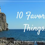 Ten Favorite Things + #Giveaway!