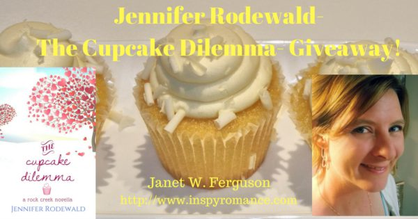 Jennifer Rodewald- The Cupcake Dilemma- Excerpt and Giveaway!