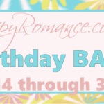 IT'S TIME!!! The Annual Inspy Romance Birthday Bash is HERE