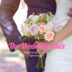 The Wedding Quiz… and #giveaway