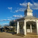 Main Street Plaza, small town USA. Boerne, Texas